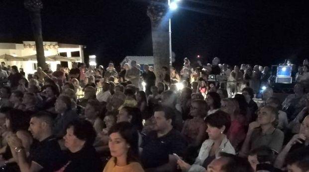 Centinaia di presenze al concerto di ieri sera in piazza Kursaal