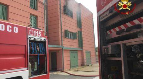 Incendio in un appartamento all'isola d'Elba