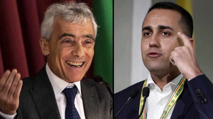 Combo: Tito Boeri e Luigi Di Maio