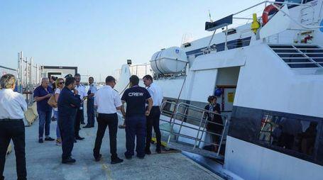 Controlli prima di salire a bordo e raggiungere la Croazia