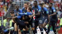 Francia-Croazia 4-2, transalpini campioni del mondo (Ansa)