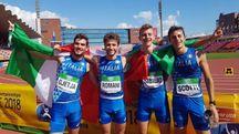 Il quartetto azzurro