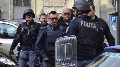 La polizia intervenuta nello scorso mese di aprile su segnalazione dei residenti