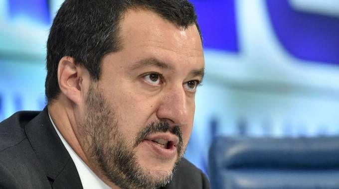 Il ministro dell'Interno Matteo Salvini (Afp)