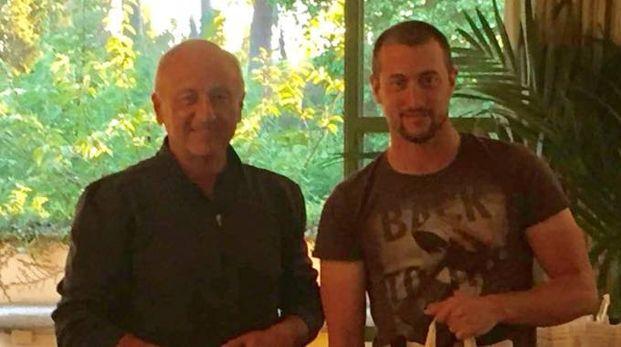 Sauro Secci e il figlio Pietro, vincitori all'Ugolino