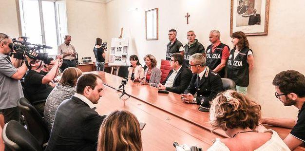 Un momento della conferenza stampa (Fotoprint)