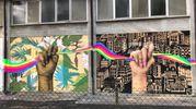 Un murales per Nelson Mandela