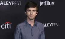 "Freddie Highmore, protagonista della serie tv ""The good doctor"" (Ansa)"