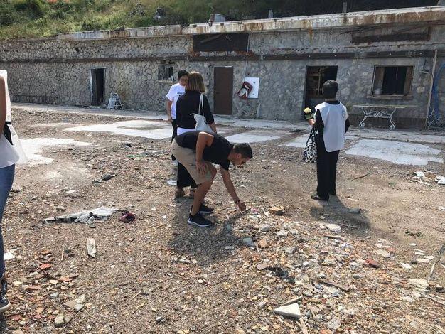 Ritorno a Ripopiano: l'emozione e il dolore delle famiglie