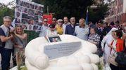 Rigopiano, la memoria: Chieti ricorda le 29 vittime con un monumento