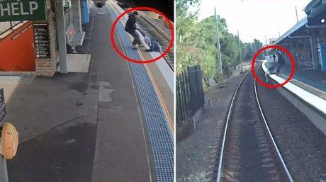 Sydney, uno uomo salvato in extremis (Facebook)
