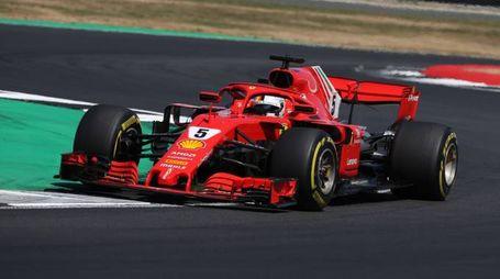 Formula 1, Sebastian Vettel in azione (LaPresse)