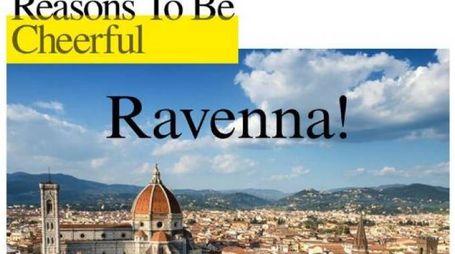 Il post retwittato su Facebook da Ravenna Festival