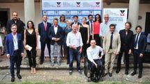 """La cerimonia del premio """"Fair Play-Menarini"""" a Castiglion Fiorentino (Ansa)"""