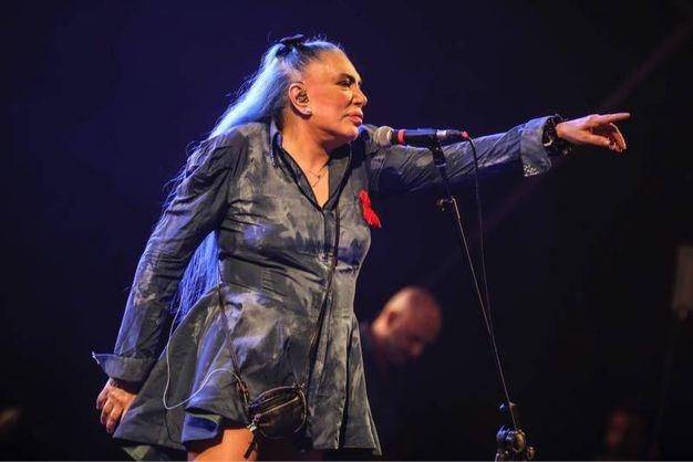 Loredana Bertè sul palco di Lunaria