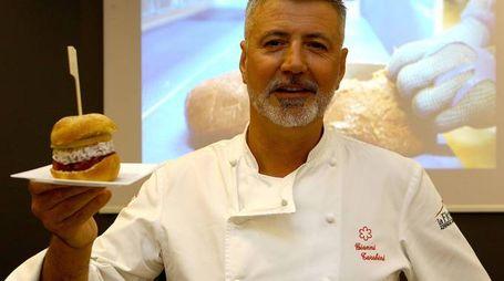 Lo chef Gianni Tarabini