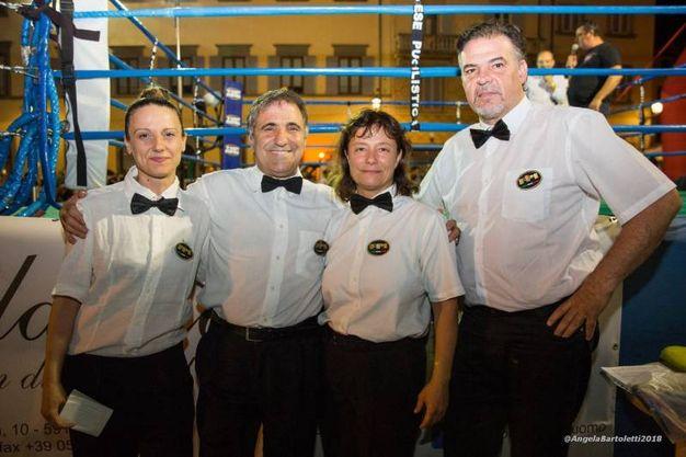 Gli arbitri (foto Angela Bartoletti)