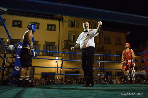 Achille Spinello vs Mouses Santana (foto Angela Bartoletti)