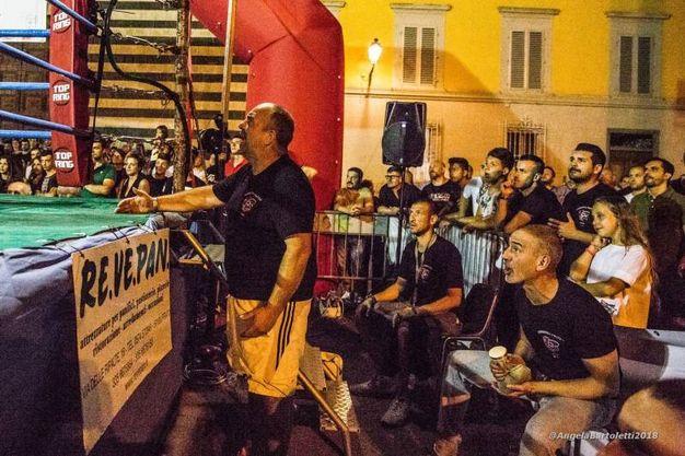 Alessandro Ruggiero vs Jeanmarc Yao Assouman (foto Angela Bartoletti)