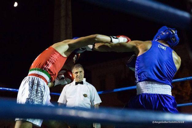 Gianluca Calabresi vs Elvis Veneziani (foto Angela Bartoletti)
