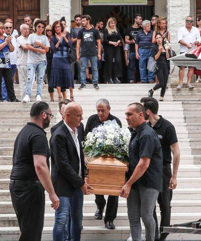 I funerali di Sabrina Malipiero nella chiesa di Cristo Re (Fotoprint)