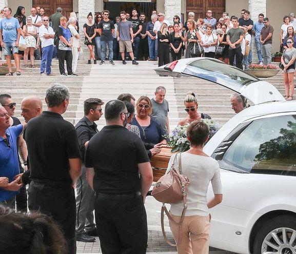 Il funerale di Sabrina Malipiero (Fotoprint)
