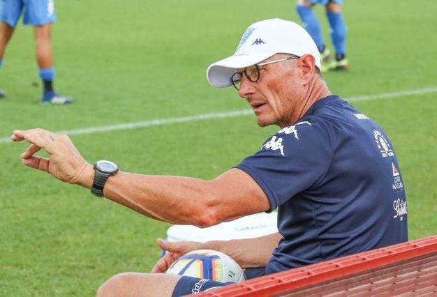 L'allenatore dell'Empoli Andreazzoli (Fotocronache Germogli)