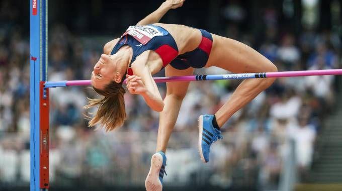 Il salto da 2,02 di Elena Vallortigara