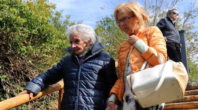 Giuseppa Fattori con la figlia Agata (Foto Gennaretti)