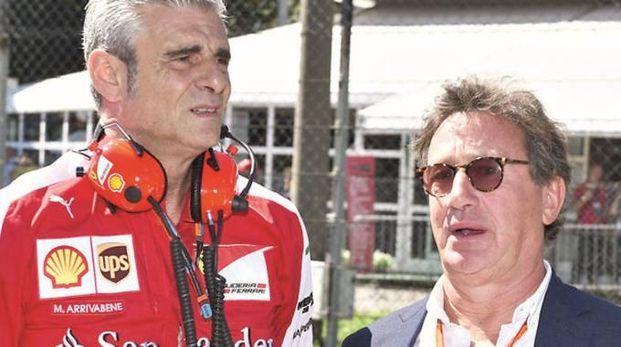 Maurizio Arrivabene e Louis Carey Camilleri