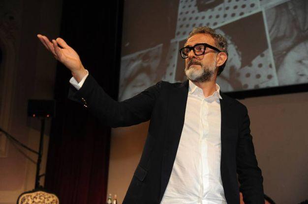 Lo chef Massimo Bottura (foto Fiocchi)