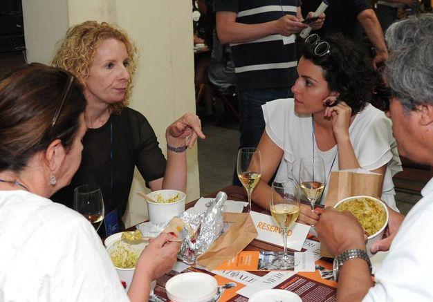 Appuntamento gastronomico al Collegio San Carlo (foto Fiocchi)