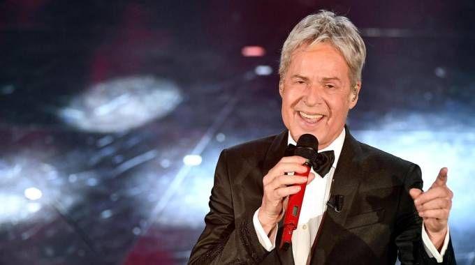 Claudio Baglioni a Sanremo (Ansa)