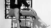Marilyn Monroe con le decolleté di Salvatore Ferragamo