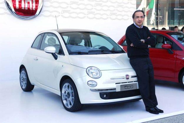 """""""Voglio che la Fiat diventi la Apple dell'auto. E la 500 sarà il nostro iPod"""""""