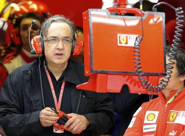 Ai box Ferrari nel 2008 (Ansa)
