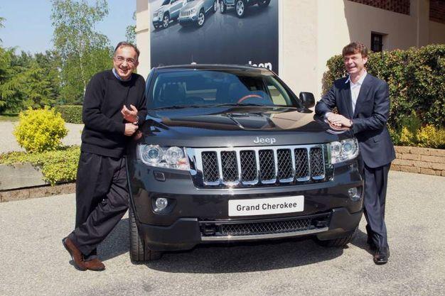 Con Mike Manley presenta la nuova Jeep nel 2011 (Ansa)