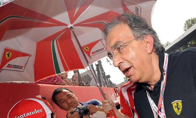 Sergio Marchionne a Monza nel 2011 (Ansa)