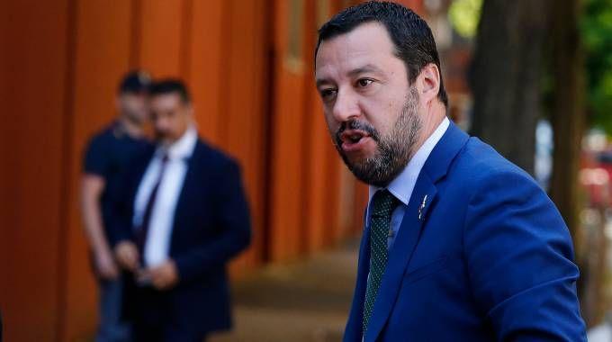 Il ministro dell'Interno Matteo Salvini (Lapresse)