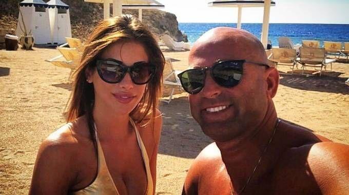 Stefano Bettarini col la compagna Nicoletta Larini (Foto Instagram)