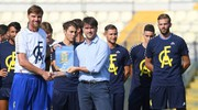 Tanta voglia di ricominciare per il Modena Calcio (foto Fiocchi)