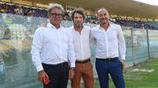 Il pubblico gialloblù attende il Modena Calcio (foto Fiocchi)