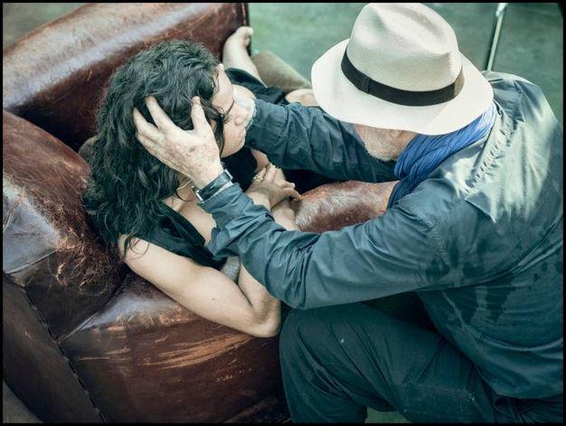 Albert Watson con Misty Copeland