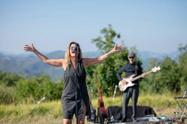 Un momento del concerto  (foto ufficio stampa RisorgiMarche)