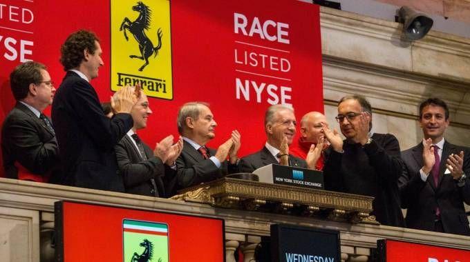 L'esordio della Ferrari a Wall Street