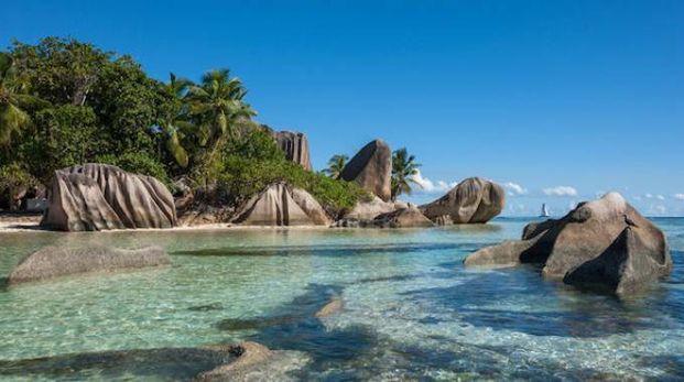 Seychelles, la spiaggia di La Digue