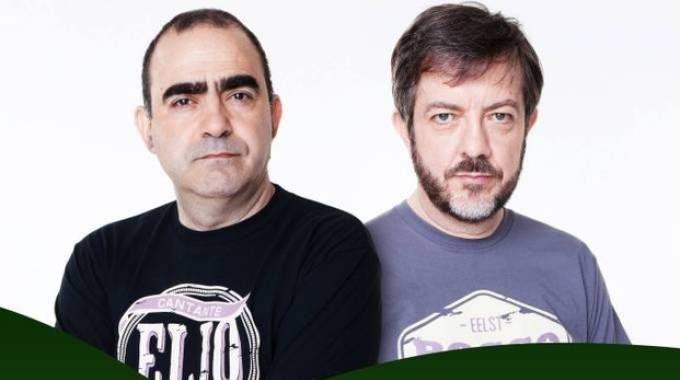 RisorgiMArche, Elio e Rocco Tanica a Santa Maria in Pantano
