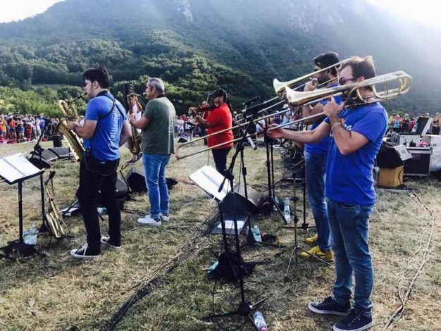 La Big Band (foto ufficio stampa RisorgiMarche)