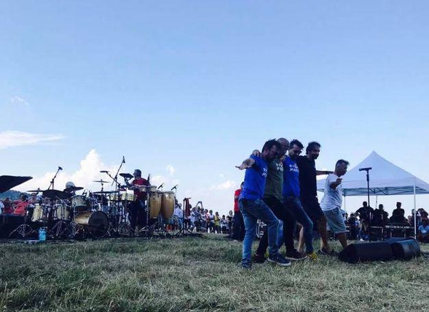 Balli e salti con la Big Band (foto ufficio stampa RisorgiMarche)