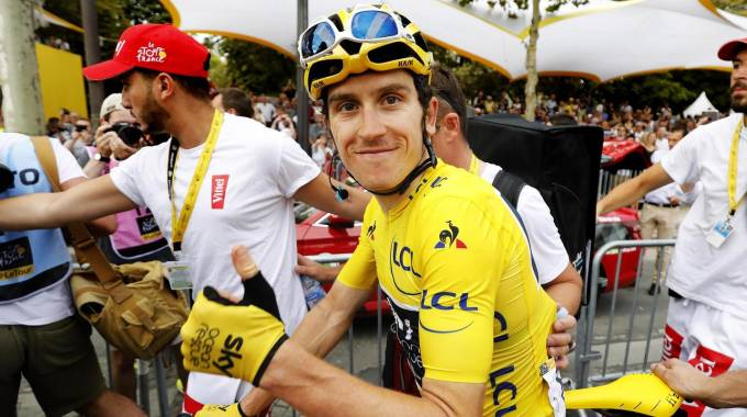 Geraint Thomas, vincitore del Tour de France 2018